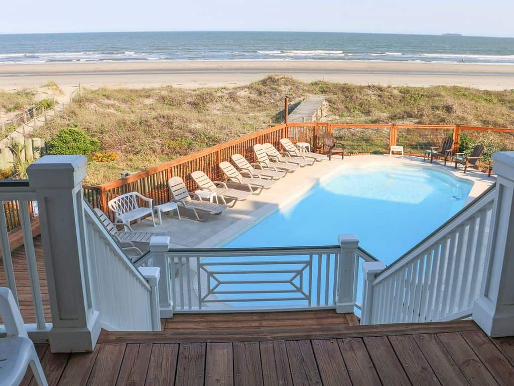 VRBO Isle of Palms Beach View