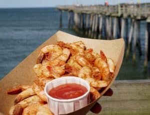 Nags Head Happy Hour Shrimp